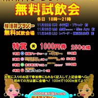 第14回 横須賀ブラジャー祭り開催