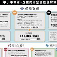 中小事業者・企業向け緊急経済対策